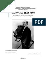 Edward Weston Vita e Opera