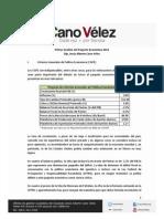 14-09-11-Primer Análisis del Paquete Económico