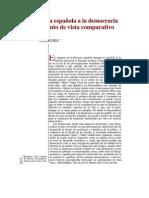Transicion Espanola Comparada TUSELL
