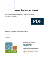 Just a Click Away Conference Report