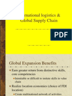 International Logistics and Global Supply Chain