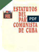 estatutos PCC