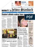 Chelsea Standard Front Page Sept. 15, 2011