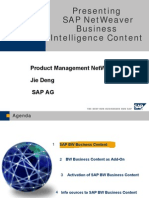 Business Intelligence Content