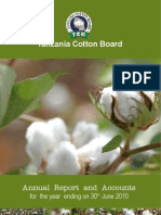 Cotton Board Annual Report 2010