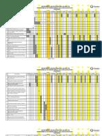 Cronograma 2010-2011 Participacion Social