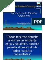 AvancesGestionAmbiental
