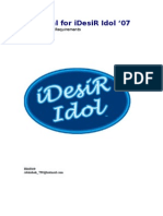 iDesiR Idol Proposal KS REVAMPED