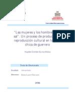 Las Mujeres y Los Hombres de La Sal Un Proceso de Produccion y Reproduccion Cultural en La Costa Chica de Guerrero 0[1][1]