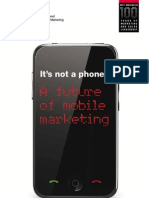 A Future of Mobile Marketing