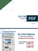 Credenciales El Universal AGOSTO26