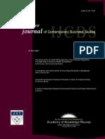 Ijcbs Vol 2 No 4 April 2011 Issn 2156-7506