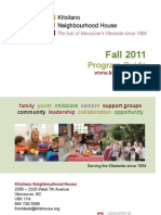 Fall 2011 Program Guide