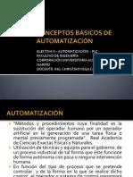 CONCEPTOS BÁSICOS DE AUTOMATIZACIÓN