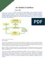 Concepto y Tipos de Modelos Científicos
