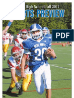 Darien High School Fall 2011 Sports Preview