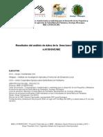 Informe Para 2da Anualidad LINEA BASE