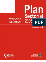 Colombia Plan Sectorial