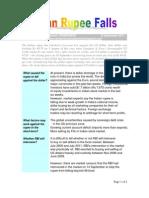 Indian Rupee Falls-VRK100-15Sep2011