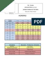 HORÁRIO  Paula Valente-crianças