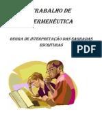 Trabalho de Hermeneutica - Resumo - 1-7-11