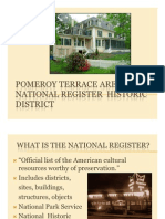 11-9-12 Pomeroy Ter Historic District Presentation