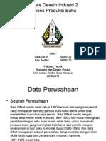 profil percetakan & proses offset