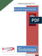 Manual de Capacitacion Sistemas
