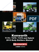 Kenworth Medium Duty 2010 Body Builder Manual