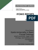 Grenon Spatio-Temporality in Basic Formal