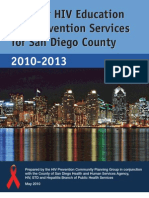 2010-2013 San Diego County Plan for HIV Prevention Services