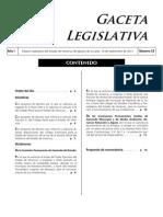 Perturbación del Orden Público - Iniciativa