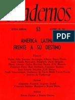 La universidad en América Latina, Luis Alberto Sánchez, Cuadernos 53, octubre de 1961