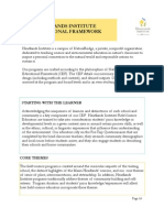 FY12 GCM Educational Framework