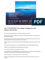 The Success Summit 2011