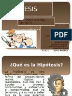 DIAPOS DE HIPOTESIS ....
