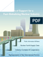 WNA Four Pillars of Support for a Fast-Globalizing Nuclear Industry