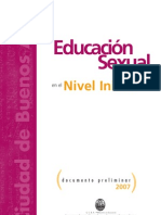 Educación Sexual en el Nivel Inicial