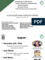 [SLIDES] - Educação para além do capital