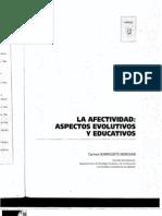CARMEN BARRIGUETE MERCHÁN -- LA AFECTIVIDAD--ASPECTOS EVOLUTIVOS Y EDUCATIVOS