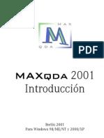 Manual Maxqda