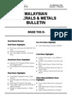 Malaysian Minerals Bulletin Jan-Feb 2011