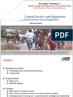 Cyclone, Coastal Society and Migration