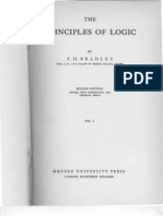 F. H. Bradley - Principles of Logic