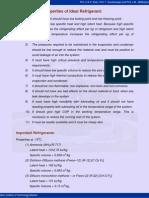 12 Required Properties of Idea Refrigerants