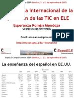 Panorámica internacional de la aplicación de las Tecnologías de la Información y la Comunicación en ELE