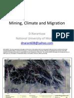 Mining, Climate and Migration by Narantuya Danzan, National University of Mongolia