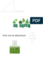 Go Green Tourism for Adults