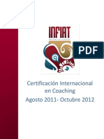 Certificación Coaching INFIAT
