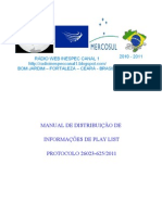 MANUAL PLAY LIST DA RÁDIO WEB INESPEC